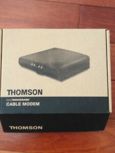 Used Thomson DCM476 Cable Modem - complete package