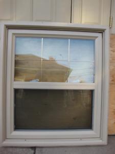 Fenêtre en PVC à guillotine
