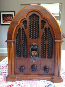 Radio,GE vintage cathedral radio,1930s reproduction AM/FM. North Shore Greater Vancouver Area image 1