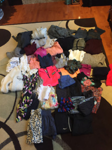 Girls teen clothing lot