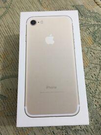 Iphone 7 128gb gold unlocked