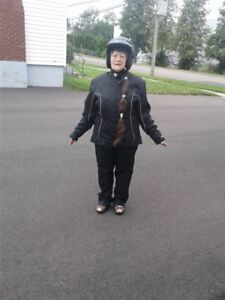 ladies motorcycle outfit