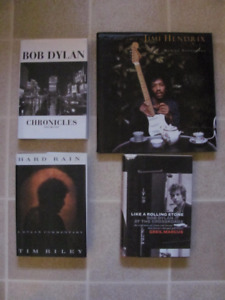 Bob Dylan  books $10 each