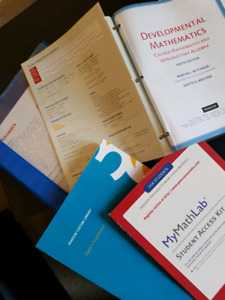 Developmental Mathematics (9th Edition) Algebra Supplement & MML