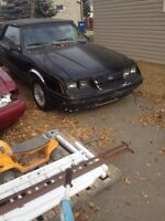 1985 mustang convertible 3.8 v6 priced to sell!!!