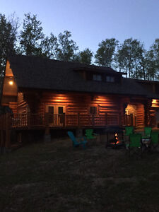 4 Season Log Home For Rent - Emma Lake, Saskatchewan
