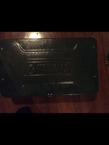 Coleman camping stove/grill