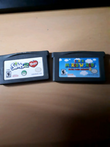 Game boy advance sp games