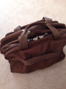 Brown computer bag/briefcase - brand new