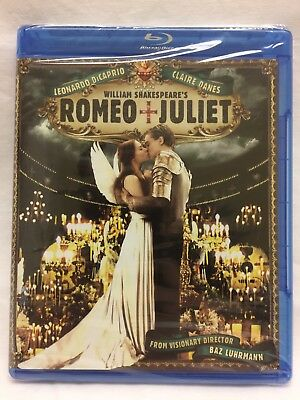 William Shakespeares Romeo And Juliet Blu Ray 1996 Leo Dicaprio   Claire Danes