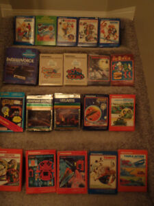 Atari----Intellivison---colecovision---and MORE!!!