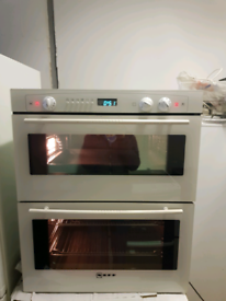 Neff under counter double electric oven