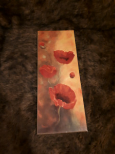 Poppy Picture - plaque mounted