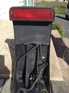 Spare tire mounted Rear brake light