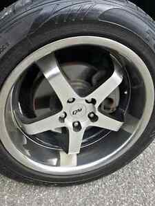 """18"""" MAGS WITH tires"""