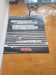 4'x3.5' Poster Is This The Life We Really Want by Roger Waters
