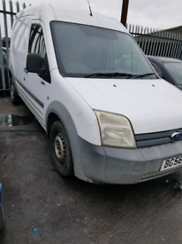 Breaking spares parts ford transit connect white siding door rear