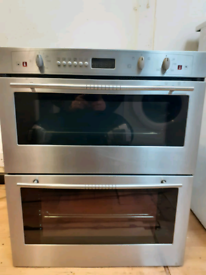 Neff U1721N2GB double electric oven built in stainless steel 60cm