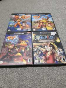 Various Gamecube and Wii games