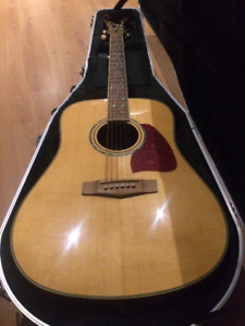 "Ibanez ""Artwood"" Acoustic Guitar -Ibanez's TOP OF THE LINE MODEL"