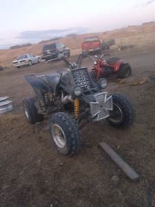 03 banshee trade for truck or 4x4 quad