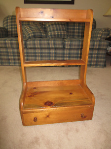 Knotty Pine Stand