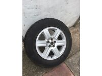 Freelander 2 spare wheel