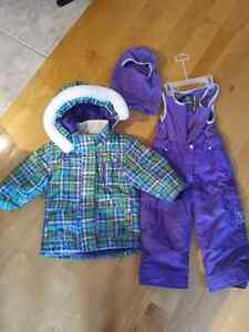 Winter suit for girl / ensemble d'hiver fillette 2 ans