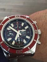 Breitling superocean II chrono authentic mint