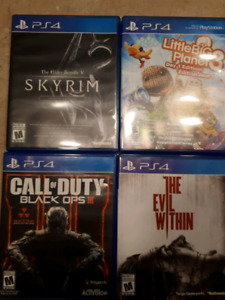 PS4 Games dirt cheap $5 each