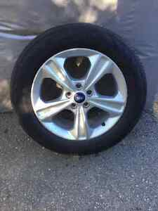 """17"""" - 18""""  Ford Alloy Rims & Tires"""