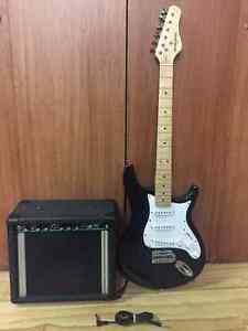 ***Kit Débutant de Guitare+Amplificateur+fils,À QUI LA CHANCE?**