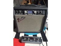 Fender GDec 30 watt modelling amp plus footswitch