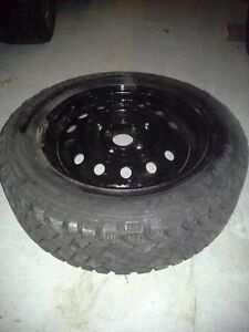 4 SNOW TIRES ON RIMS Peterborough Peterborough Area image 3