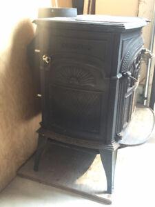 wood stove cast iron