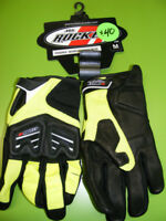 Joe Rocket - High Viz Gloves - Small to 2XL at RE-GEAR Kingston Kingston Area Preview