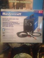Brand New Master Craft 13pc 80A Mig/Flux Wire Feed Welder