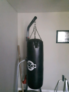 TKO  Punching bag and stand $125 this weekend only