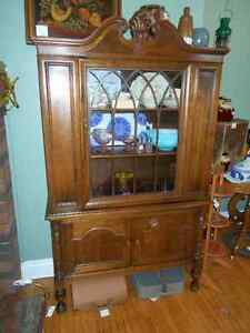 GIBBARD WALNUT DISPLAY CABINET