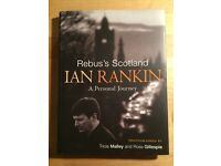 SIGNED & DOODLED Rebus's Scotland Ian Rankin first edition first print