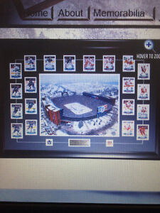 WINTER CLASSIC FRAMED SPORTS PICS TORONTO MAPLE LEAFS