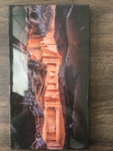 "Artwork. Wood Photo Print. ""The Treasury at Petra"""