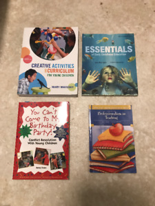 St. Clair College First Year Early Childhood Education Textbooks