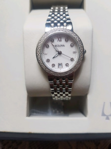 Ladies Diamond Bulova Watch