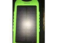 Solar panelled power bank