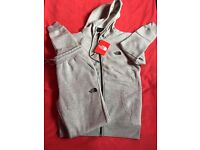 Grey The North Face Tracksuit size Medium