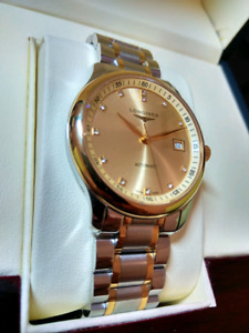 --MINT-- Longines Master two-tone automatic watch