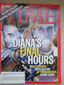 Time Magazine February 16 1998 Diana's Final Hours