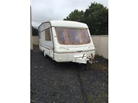 1999 swift corniche 2 berth with awning & many extras