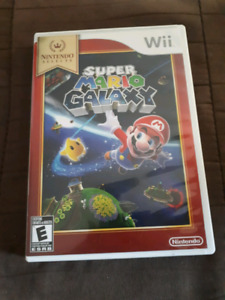 Super Mario galaxy game for wii